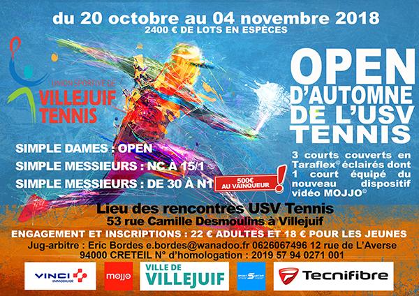 Affiche Tournoi Open Toussaint Web