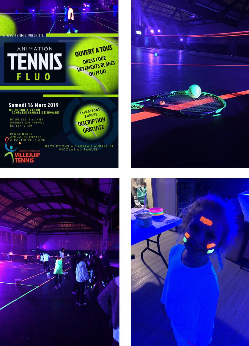 Artcile tennis fluo